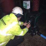 Raeburn Install Scotland's First DAB E.Sybox Max Commercial Booster Pump. Raeburn's Install Team David & Ewan commissioning E.Sybox Max