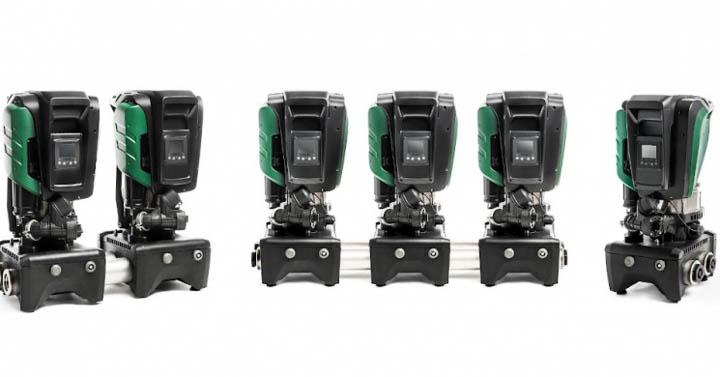 Raeburn Install Scotland's First DAB E.Sybox Max Commercial Booster Pump. Raeburn Waterwells Online Shop.