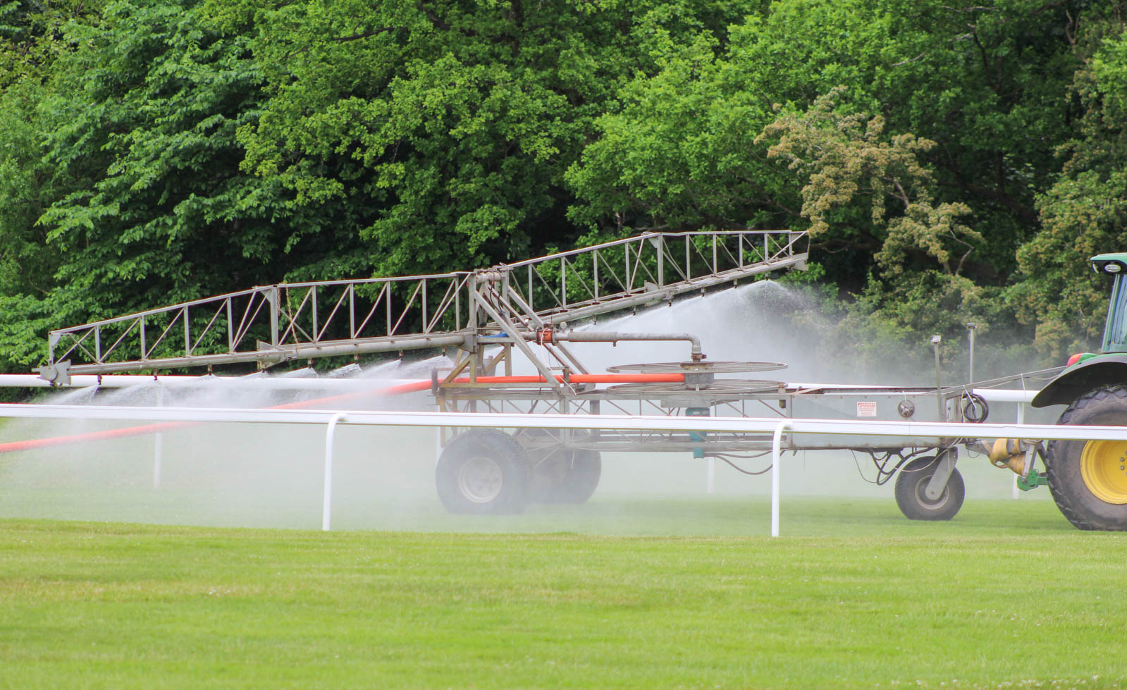 Raeburn provide commercial water boosting services for Hamilton Park racecourse.